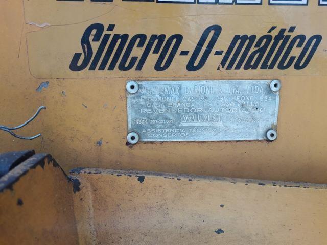 Valmet 65 id com hidráulico dianteiro para lamina - Foto 4