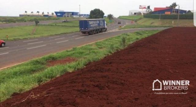 Terreno industrial rodovia - Mandaguari