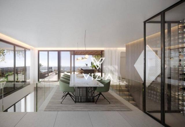 Cobertura à venda, 384 m² por R$ 4.166.502,00 - Cabral - Curitiba/PR - Foto 6