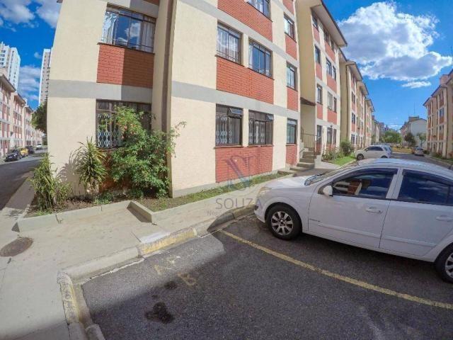 Apartamento com 2 dormitórios à venda por R$ 160.000 - Boa Vista - Curitiba/PR - Foto 3