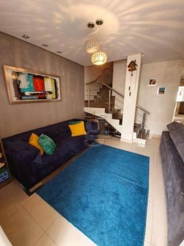 Sobrado com 3 dormitórios à venda, 153 m² por R$ 520.000,00 - Condomínio Recanto dos Pione - Foto 2