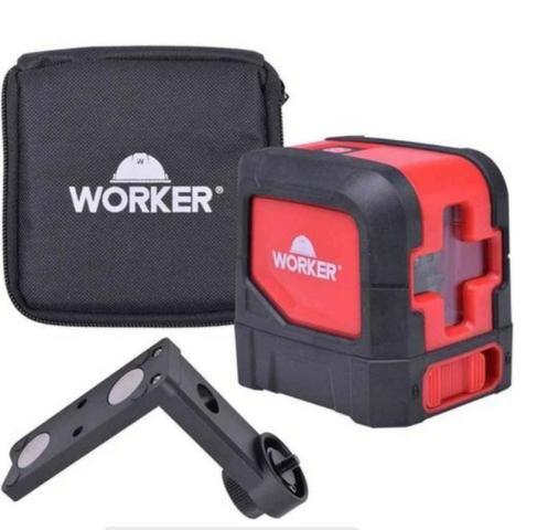 Nível a laser autoniv. worker com suporte,promoção relampago barato ( nova)