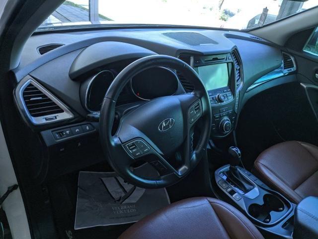 SANTA FÉ 2015/2016 3.3 MPFI 4X4 7 LUGARES V6 270CV GASOLINA 4P AUTOMÁTICO - Foto 7