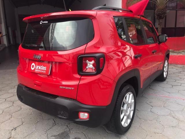 Jeep Renegade Sport 1.8 flex 2018/2019 +ipva 2020 + Transferência - Foto 2