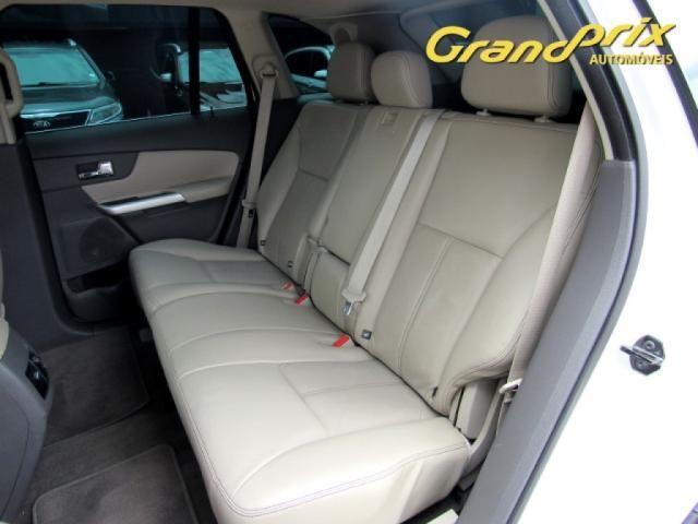 EDGE 2013 3.5 V6 GASOLINA LIMITED AWD AUTOMÁTICA BRANCA COMPLETA ÚNICO DONO! - Foto 6