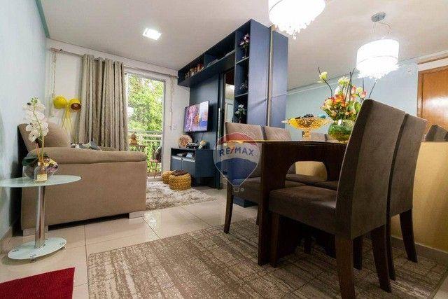 Apartamento com 2 dormitórios à venda- Tarumã - Manaus/AM - Foto 3