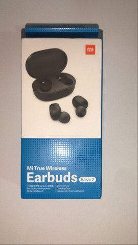 Super Promoção Fone de ouvido bluetooth Redmi Airdots 2 Lançamento, Original e Novo - Foto 6