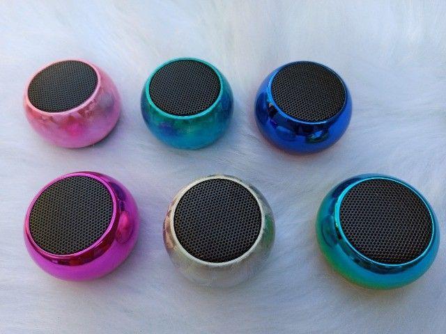 Caixinha De Som Mini Bluetooth - Foto 3