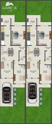Casa com 2 dormitórios à venda, JARDIM BRESSAN, TOLEDO - PR - Foto 4