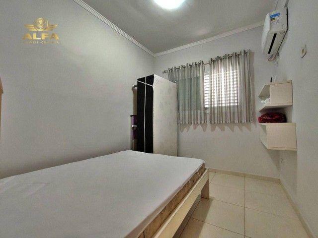 Sobrado na praia, 3 dormitórios, 1 suíte, 1 vaga, Espaço gourmet, Tombo, Guarujá. - Foto 10