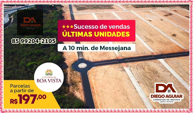 Lotes Boa Vista as margens da BR-116 &¨%$ - Foto 7