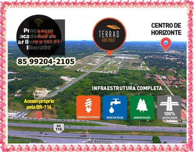 Terras Horizonte Loteamento-Infraestrutura completa &¨%$ - Foto 2