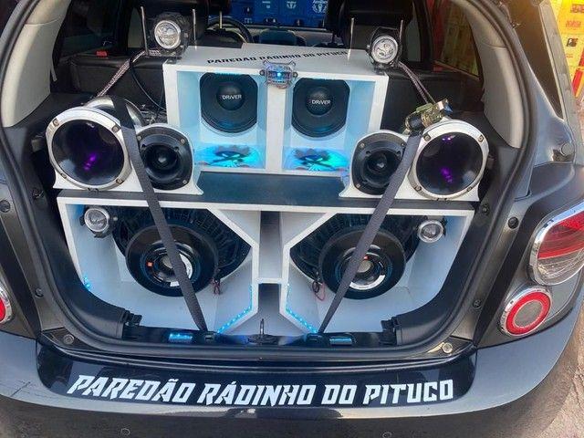 CARRO SONIC LTZ/COM PAREDÃO - Foto 6