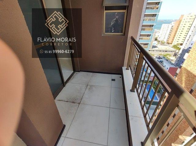 Apartamento 118 metros com vista mar no Meireles - Fortaleza - Ceará. - Foto 13
