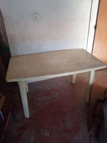 Mesa grande desmontavel  plastico  - Foto 2