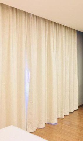 Vendo cortinas em blecout 100,00 completo produto importado! - Foto 2