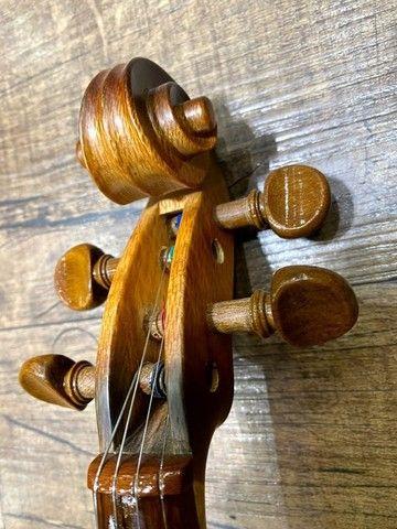 Violino 4/4 Rolim brasil premium Serie madeira nobre Araucaria Sombrear Orquestra Ccb - Foto 3