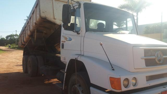 MB 1418 caçamba truck