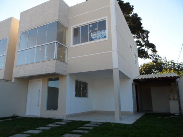 Casa duplex nova c/ 3 quartos de alto padrão de acabamento na Praia do Morro
