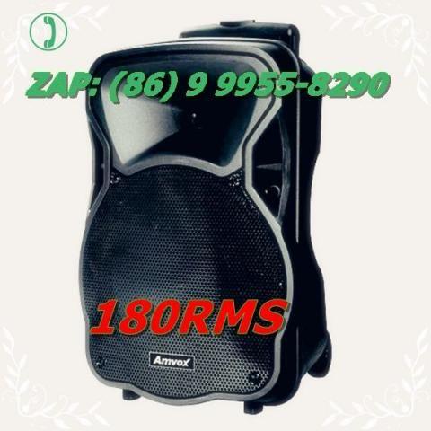 Caixa Amplificada Amvox Aca180 Bluetooth