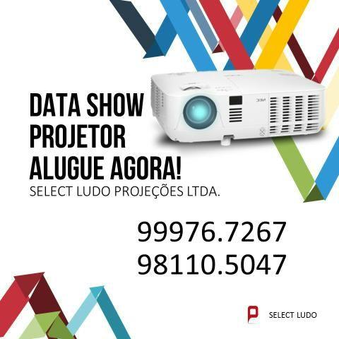 Datashow projetor loca