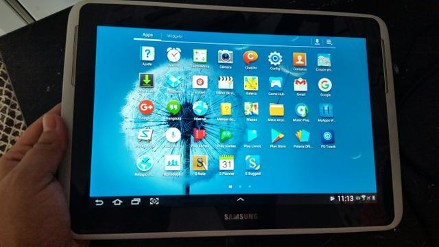 Tablet sansung not 10.1 polegadas