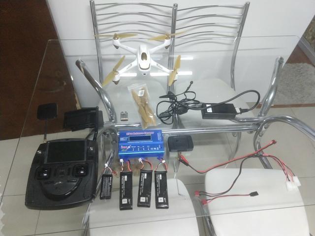Drone Hubsan com GPS semi profissional - Foto 2