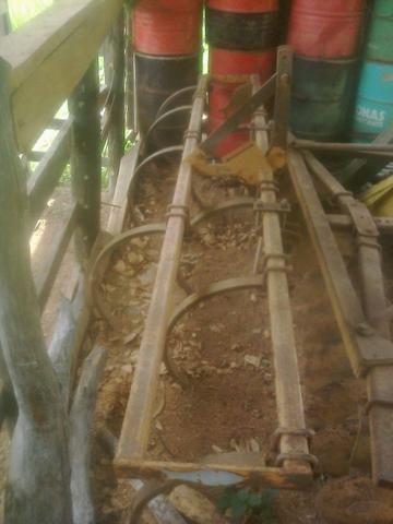 Cultivador escarificador - usado 8 linhas - conservado - Foto 2