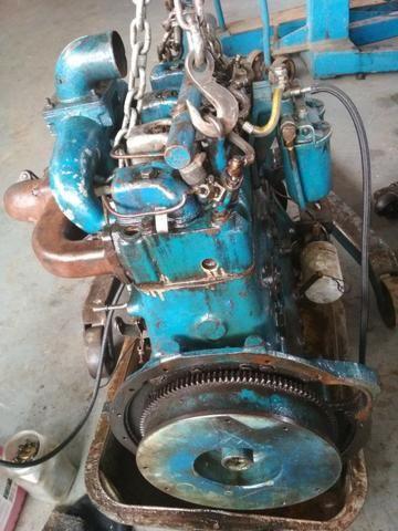 Motor Mwm 229 04 Cil Aspirado/Maçarico - F100 F1000 F4000 F350 - Foto 3