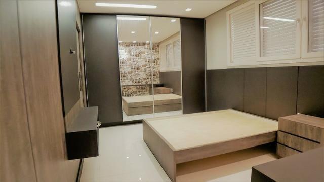 Sobrado 4 Suítes + Escritório, 351 m², semi mobiliado, c/ lazer na 404 Sul - Alto Padrão - Foto 13