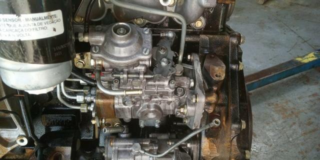 Motor Mwm 04 Cil Sprint 2.8 Turbo Interc.Parcial C/ Bomba Inj Mecânica S10 Blazer Frontier - Foto 3