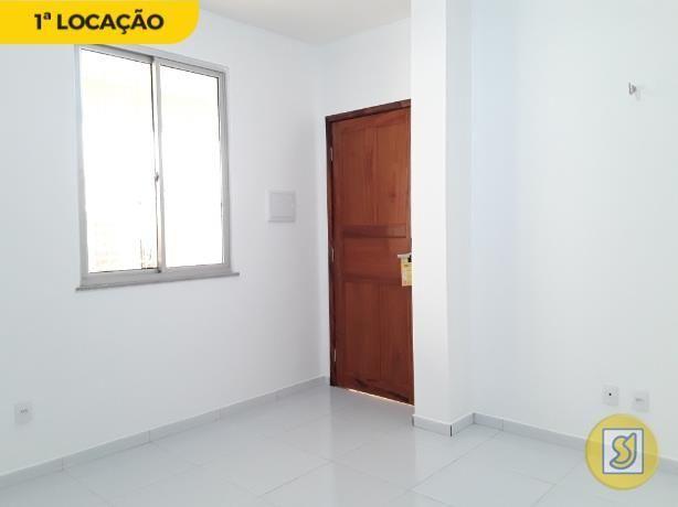 Apartamento para alugar com 1 dormitórios em Cidade dos funcionários, Fortaleza cod:50389 - Foto 2