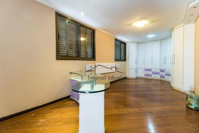 Cobertura com 4 dormitórios à venda, 564 m² por R$ 2.300.000 - Alto da Glória - Curitiba/P - Foto 17
