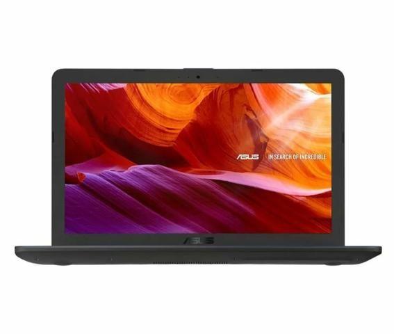 "Notebook Asus i3, tela 15,6"" 1TB HD (aberto para conferencia) - Foto 4"