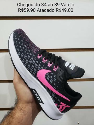 Tênis Da Nike Feminino Muito Lindo Novo
