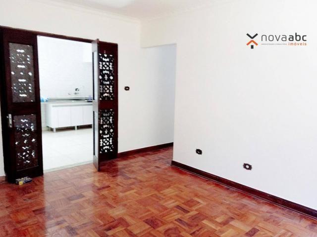 Sobrado com 4 dormitórios para alugar, 260 m² por R$ 4.500,00/mês - Vila Homero Thon - San - Foto 8