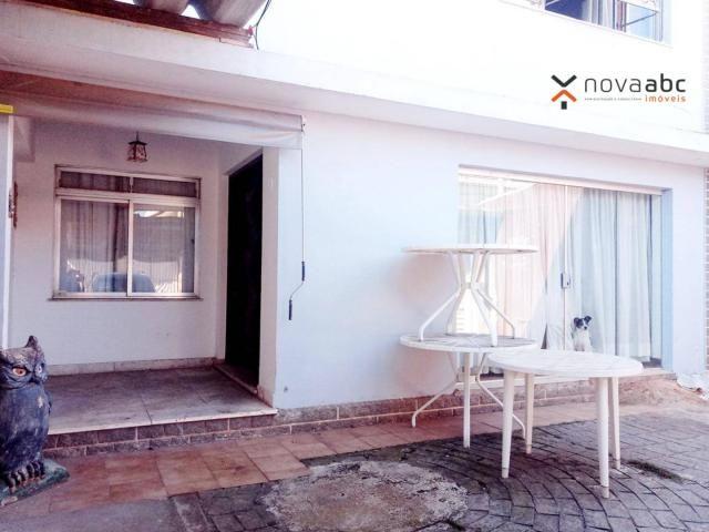 Sobrado com 4 dormitórios para alugar, 260 m² por R$ 4.500,00/mês - Vila Homero Thon - San - Foto 3