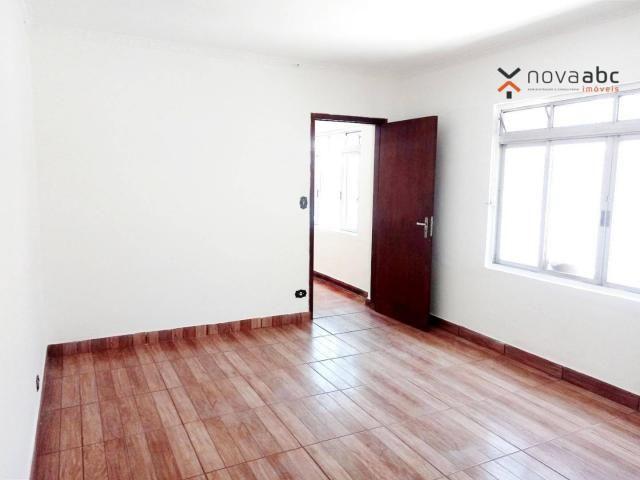 Sobrado com 4 dormitórios para alugar, 260 m² por R$ 4.500,00/mês - Vila Homero Thon - San - Foto 11