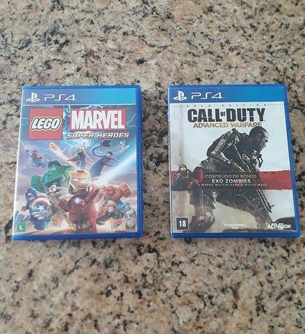 Jogos de PS4 mídia física (disponíveis) - Foto 5