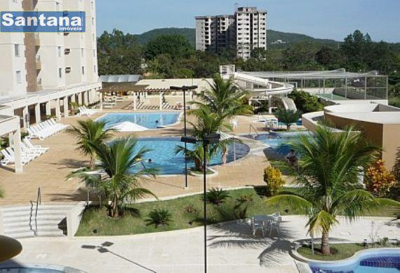 Apartamento à venda com 3 dormitórios em Jardim jeriquara, Caldas novas cod:440 - Foto 2