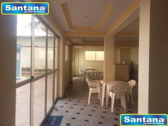 Apartamento à venda com 1 dormitórios em Olegario pinto, Caldas novas cod:2490 - Foto 13