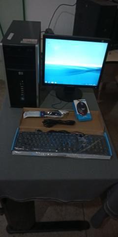Computador Hp completo - (teclado, mouse e cabos novos) R$ 299,00