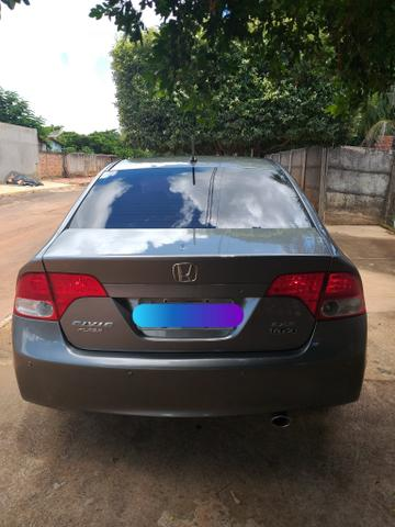 Vende-se Honda Civic Plaza LXS 09/10 1.8 Flex - Foto 2