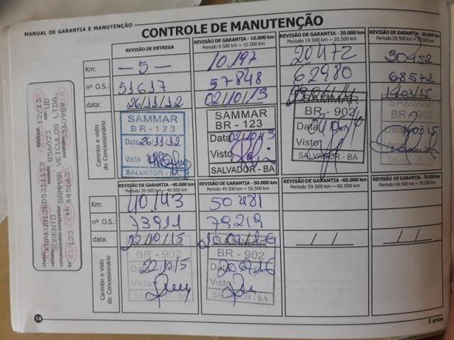 Sorento 3.5 V6 Ex 7l 4x4 Automática Gasolina 2013 - Foto 11