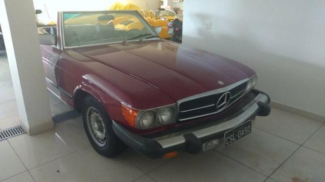 Mercedes SL450 1976 - 2 capotas - modelo americano - Foto 16
