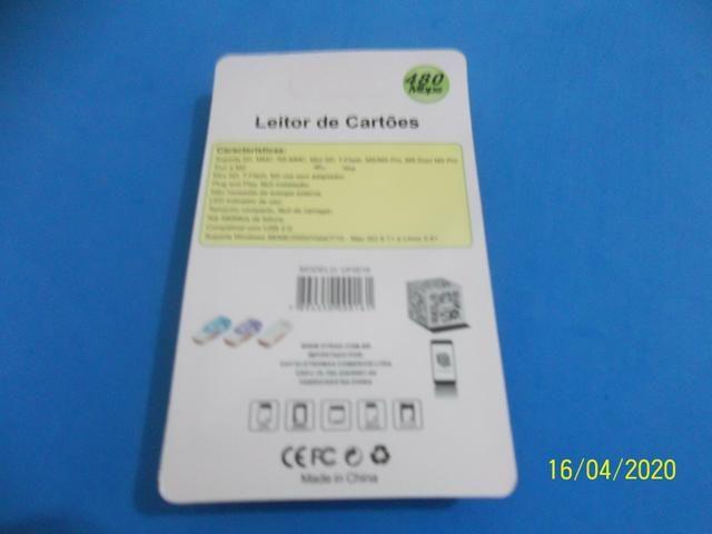 Leitor de cartão de memória R$4,00 - Foto 2