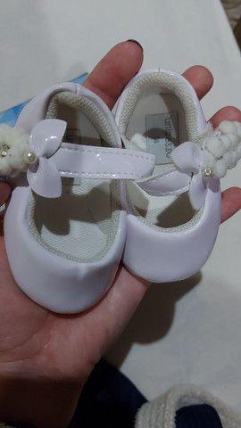 Kit 3 sapatos bebe - Foto 5
