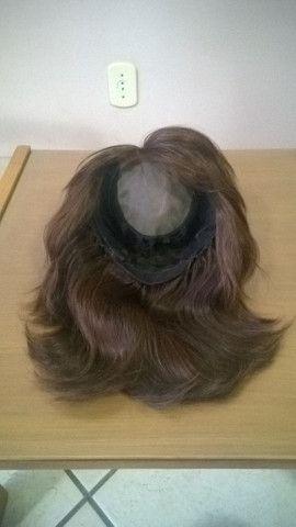 Peruca de cabelo humano - Foto 4