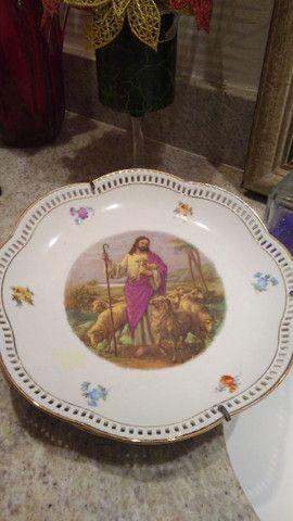 Prato porcelana antigo