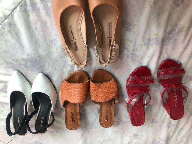 Qualquer sapato $10